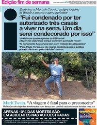 capa Jornal i de 26 julho 2019