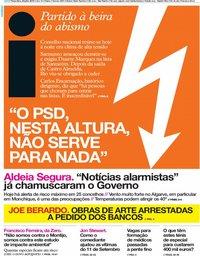 capa Jornal i de 30 julho 2019
