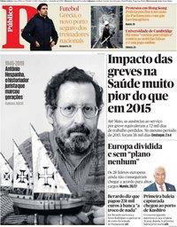 capa Público de 2 julho 2019