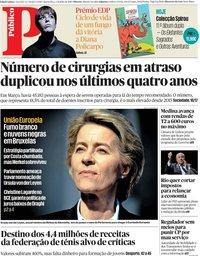 capa Público de 3 julho 2019
