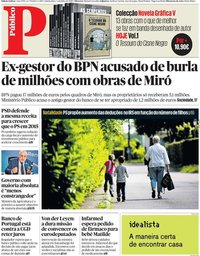 capa Público de 4 julho 2019