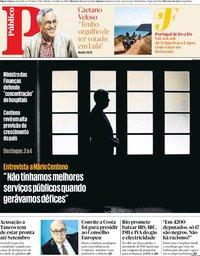 capa Público de 6 julho 2019