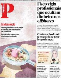 capa Público de 10 julho 2019