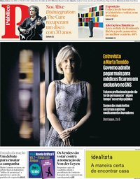 capa Público de 11 julho 2019