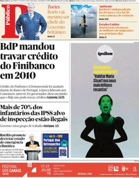 capa Público de 12 julho 2019