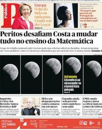 capa Público de 16 julho 2019