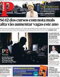 capa Público de 17 julho 2019