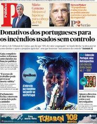 capa Público de 19 julho 2019