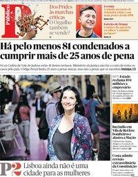 capa Público de 21 julho 2019