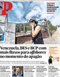 capa Público de 22 julho 2019