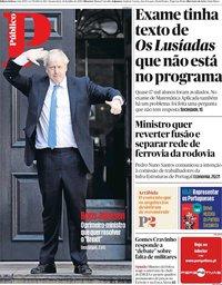 capa Público de 24 julho 2019