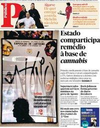 capa Público de 25 julho 2019