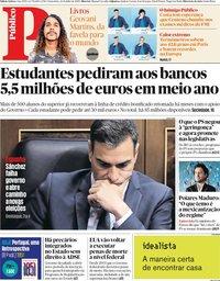 capa Público de 26 julho 2019
