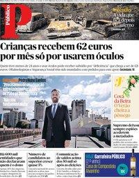 capa Público de 27 julho 2019