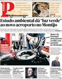 capa Público de 29 julho 2019