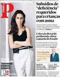 capa Público de 30 julho 2019