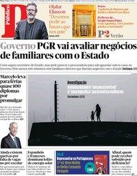 capa Público de 31 julho 2019