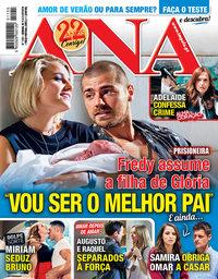 capa Revista Ana de 15 julho 2019