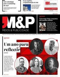 capa Revista Meios e Publicidade de 1 julho 2019