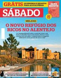 capa Revista Sábado de 18 julho 2019