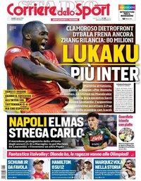 capa Corriere dello Sport de 5 agosto 2019