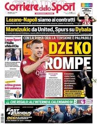 capa Corriere dello Sport de 7 agosto 2019