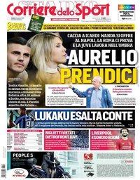 capa Corriere dello Sport de 10 agosto 2019