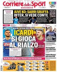 capa Corriere dello Sport de 11 agosto 2019