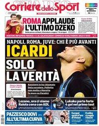 capa Corriere dello Sport de 12 agosto 2019