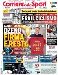 capa Corriere dello Sport de 17 agosto 2019