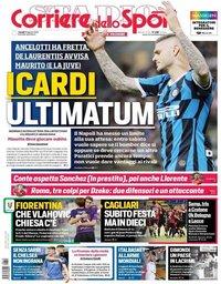 capa Corriere dello Sport de 19 agosto 2019