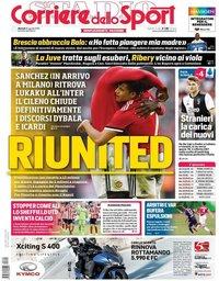 capa Corriere dello Sport de 20 agosto 2019
