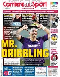 capa Corriere dello Sport de 21 agosto 2019