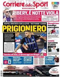 capa Corriere dello Sport de 22 agosto 2019