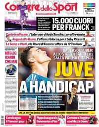 capa Corriere dello Sport de 23 agosto 2019