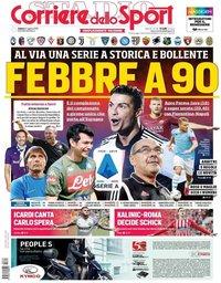 capa Corriere dello Sport de 24 agosto 2019