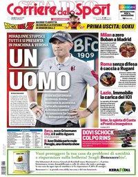 capa Corriere dello Sport de 26 agosto 2019