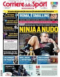 capa Corriere dello Sport de 30 agosto 2019