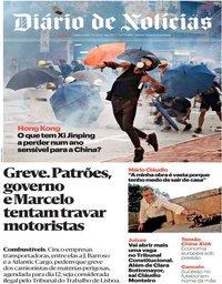capa Diário de Notícias de 7 agosto 2019