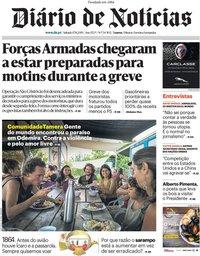 capa Diário de Notícias de 17 agosto 2019