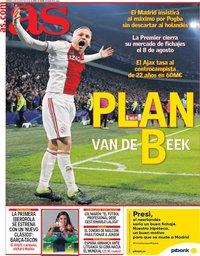 capa Jornal As de 2 agosto 2019