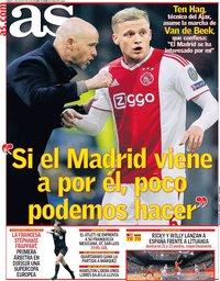 capa Jornal As de 3 agosto 2019