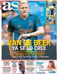 capa Jornal As de 4 agosto 2019