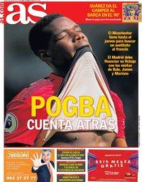 capa Jornal As de 5 agosto 2019