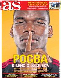 capa Jornal As de 6 agosto 2019