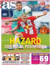 capa Jornal As de 8 agosto 2019