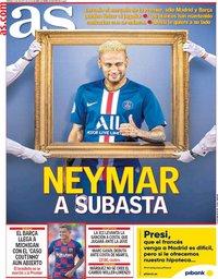 capa Jornal As de 9 agosto 2019