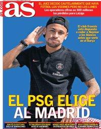 capa Jornal As de 10 agosto 2019