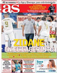 capa Jornal As de 12 agosto 2019