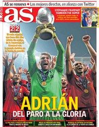 capa Jornal As de 15 agosto 2019